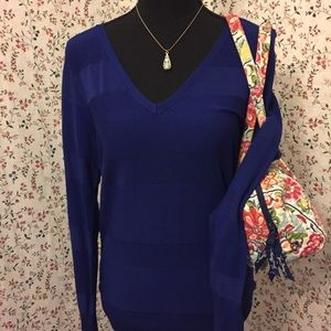 NWT Covington Blue Sweater